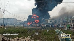 NEMA reveals the real cause of Abule Ado explosion in Lagos