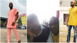 You never know where life will take you, BBNaija's Tobi Bakre says as he shares throwback photo