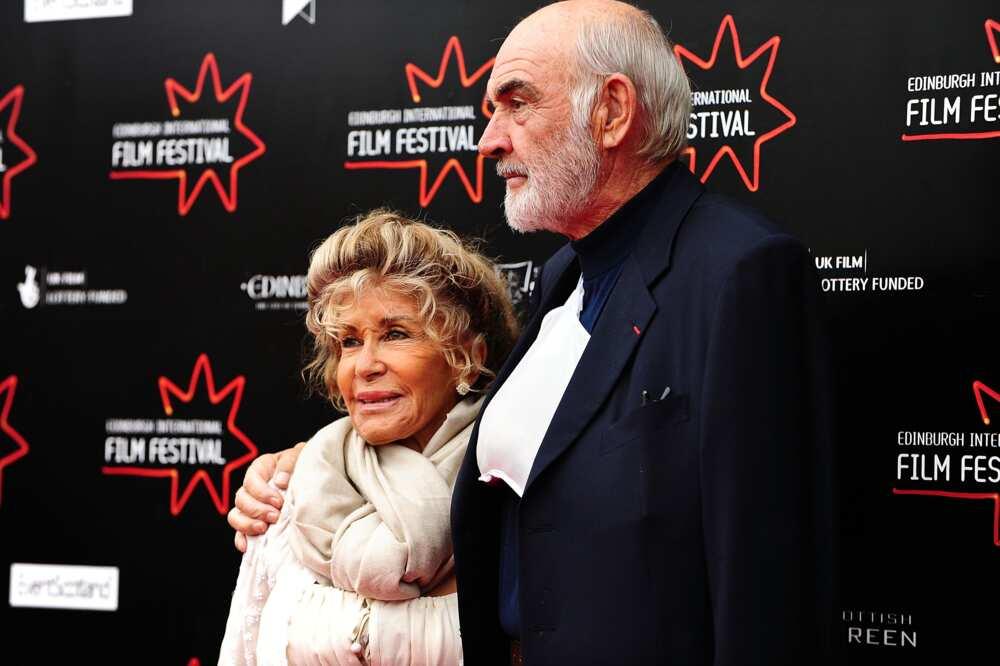 Sean Connery spouse