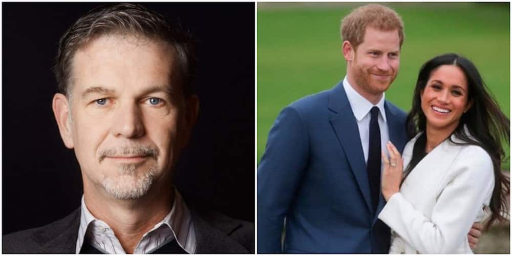 Meghan Markle, Prince Harry and Reed Hastings