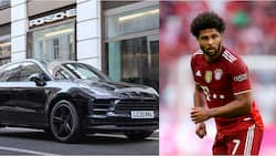 Former Arsenal star buys N67m Porsche to add to his collection of supercars