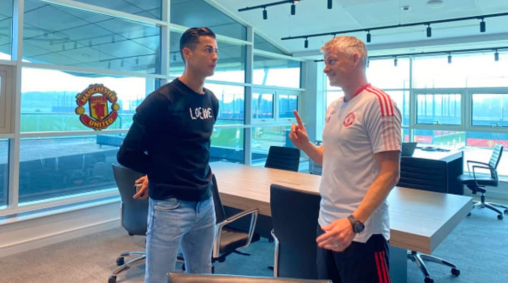 Tension at Old Trafford As Solskjaer Hints He Denied Cristiano Ronaldo Man Utd Request
