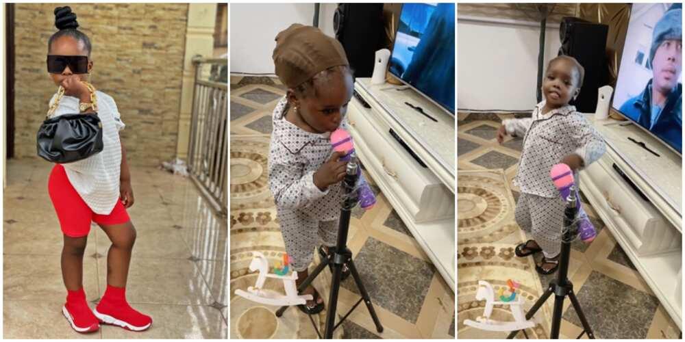 4-year-old TikTok sensation Darasimi performs Oniduro Mi song
