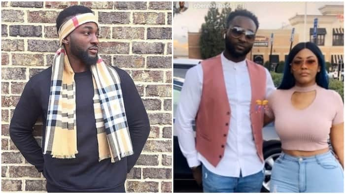 Gbenro Ajibade reacts to backlash after showing off new girlfriend