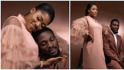 May this union last: Fans pray for Tobi as reality star releases more prewedding photos
