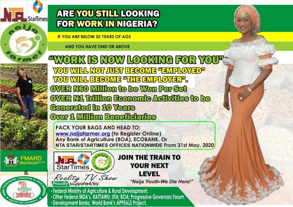 NTA-StarTimes set to air Naija Farmer Reality TV show
