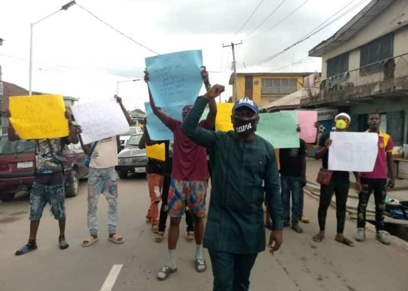 Electricity tariff, fuel price hike: Nigerian students protest against govt