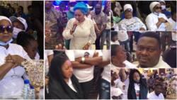 Photos, videos as actors attend Bimbo Oshin's late husband, Dudu Heritage's wake keep, Tope Alabi performs