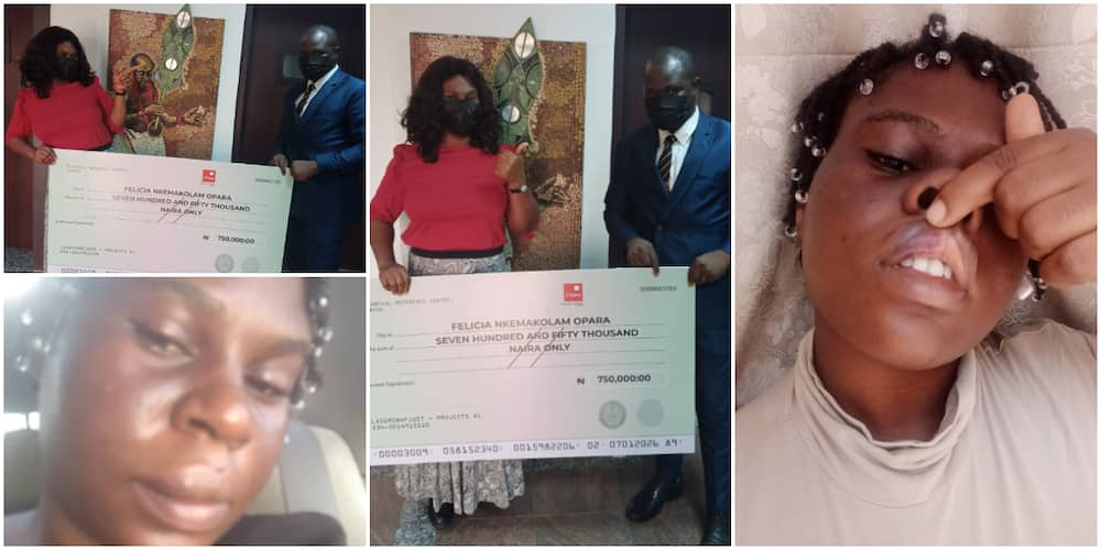EndSARS: Lady Who Was Brutalized During Protest Wins Nigerian Police at Panel, Gets N750k cash, Many React