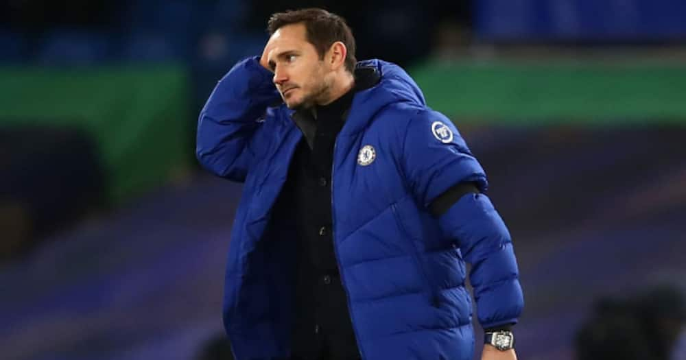 Frank Lampard to be sacked if Chelsea lose 3 upcoming matches
