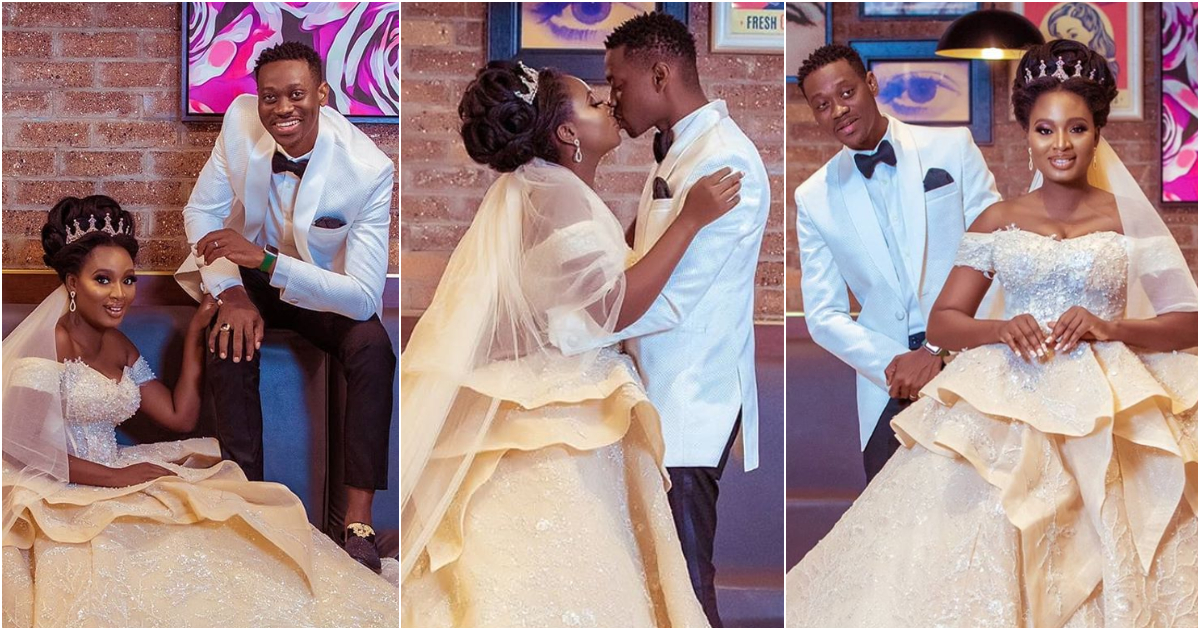 Actor Adedimeji Shares 12 Mock Wedding Photos With Actress Adebimpe