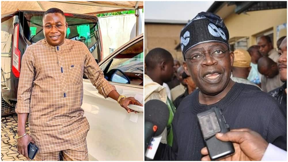 Sunday Igboho reveals what happened when he met with Tinubu in Lagos