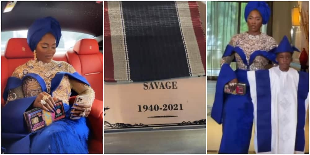 Tiwa Savage lost her father in July