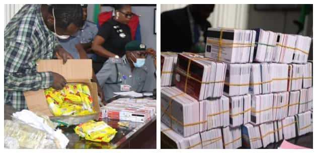 Customs nabs Dubai-bound passenger with 2,886 ATM cards at Lagos airport