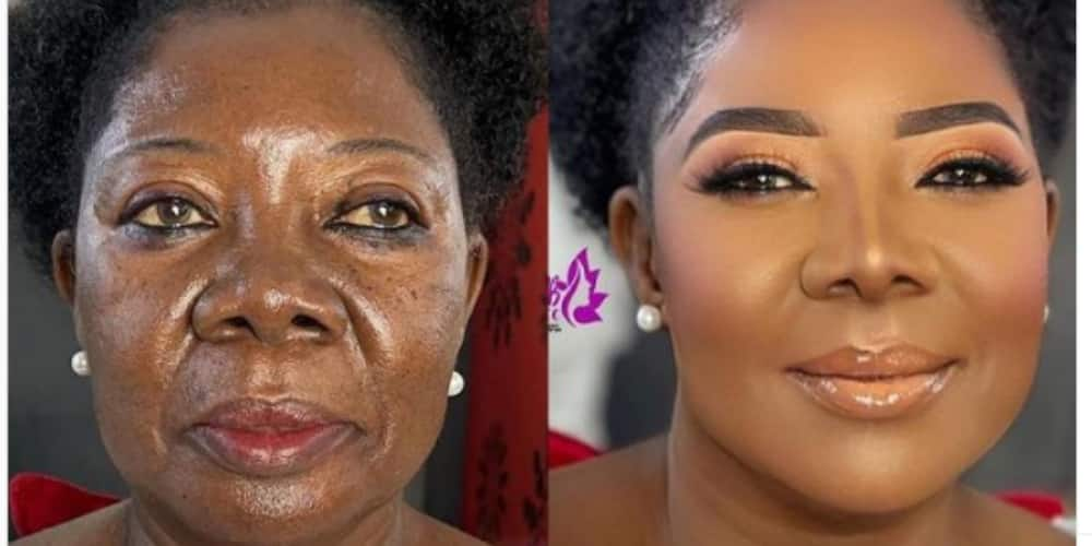 Many people couldn't believe their eyes after seeing the before and after photos of the woman