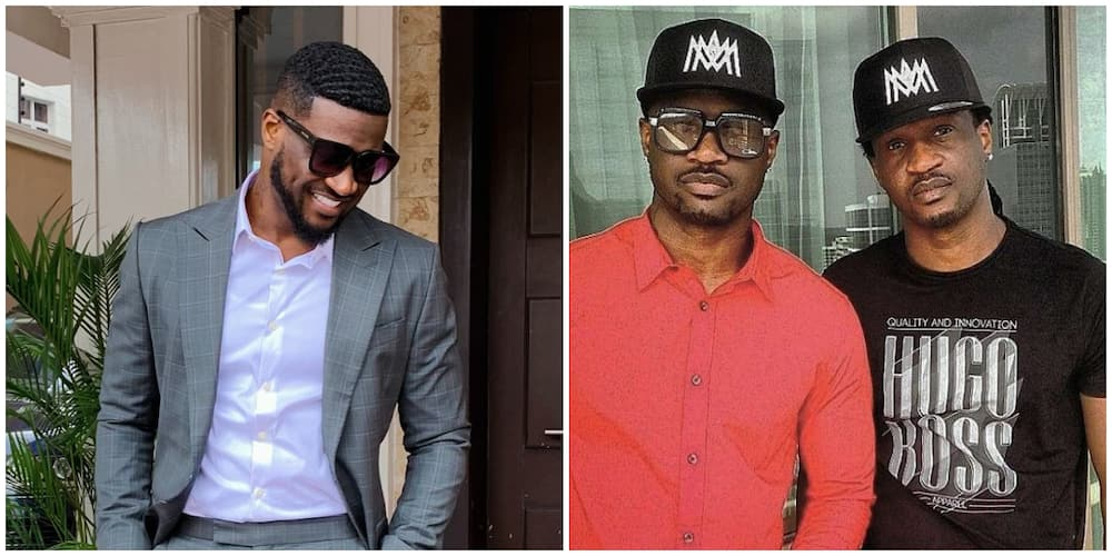 It's over 4yrs Now, Please Move on, Peter Okoye Tells PSquare Fan Who Wants Them to Reunite