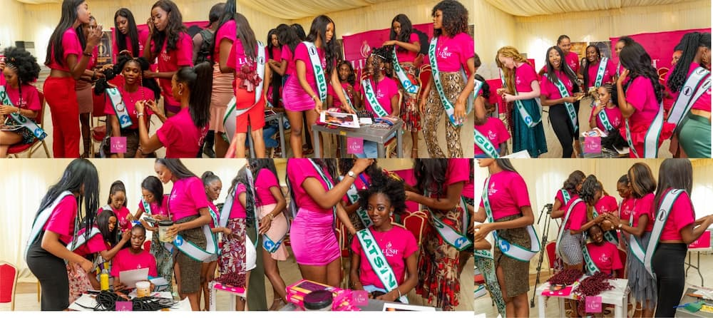 MBGN 2021: Lush Hair Brings Non-Stop Excitement to Beauty Contestants at the Camp