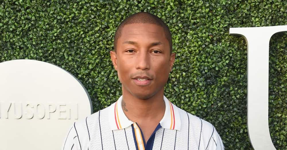 Pharrell Williams new photos drop, trends for finally looking his age
