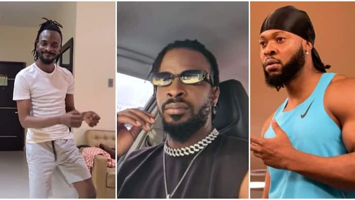 9ice vibes to Flavour's song amid supremacy controversy between the 2 singers