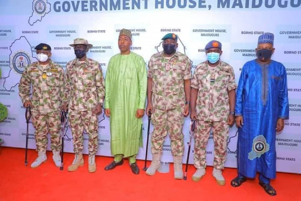 4 things Chief of Defence Staff told frontline troops in Maiduguri