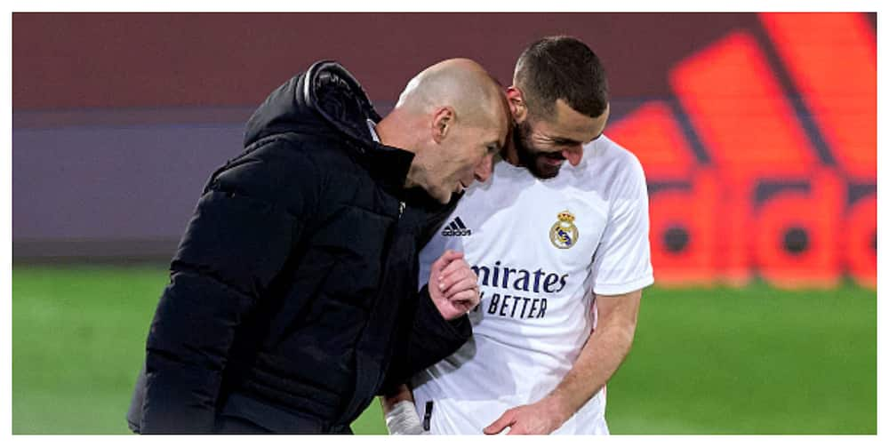 Zinedine Zidane claims Benzema is France's best striker ever after Athletic victiory