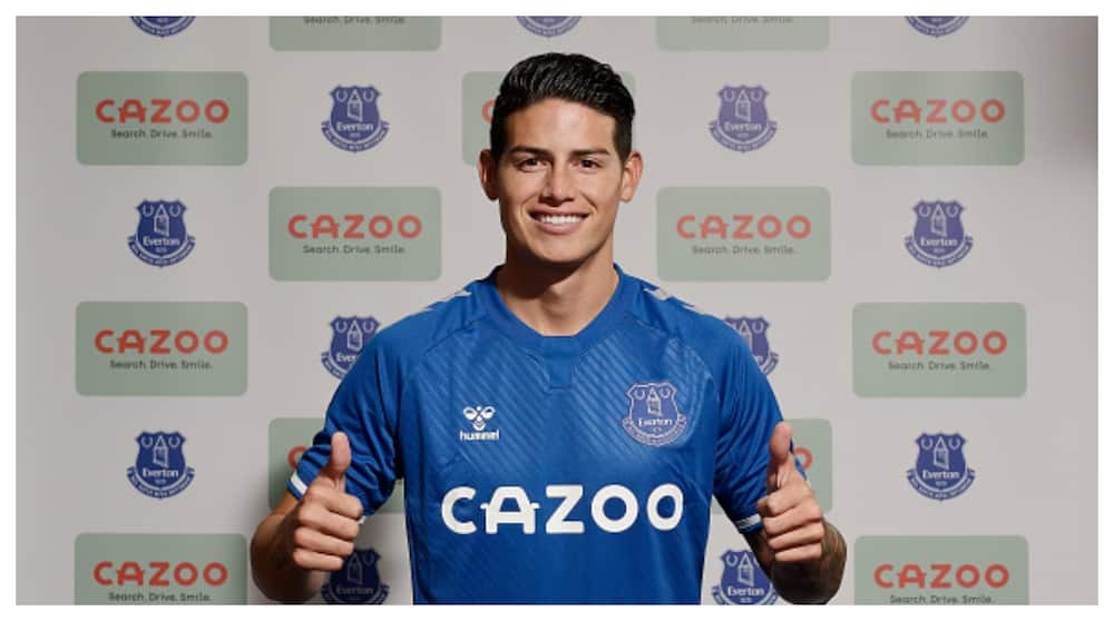 James Rodriguez finally joins Everton from Real Madrid for £22m