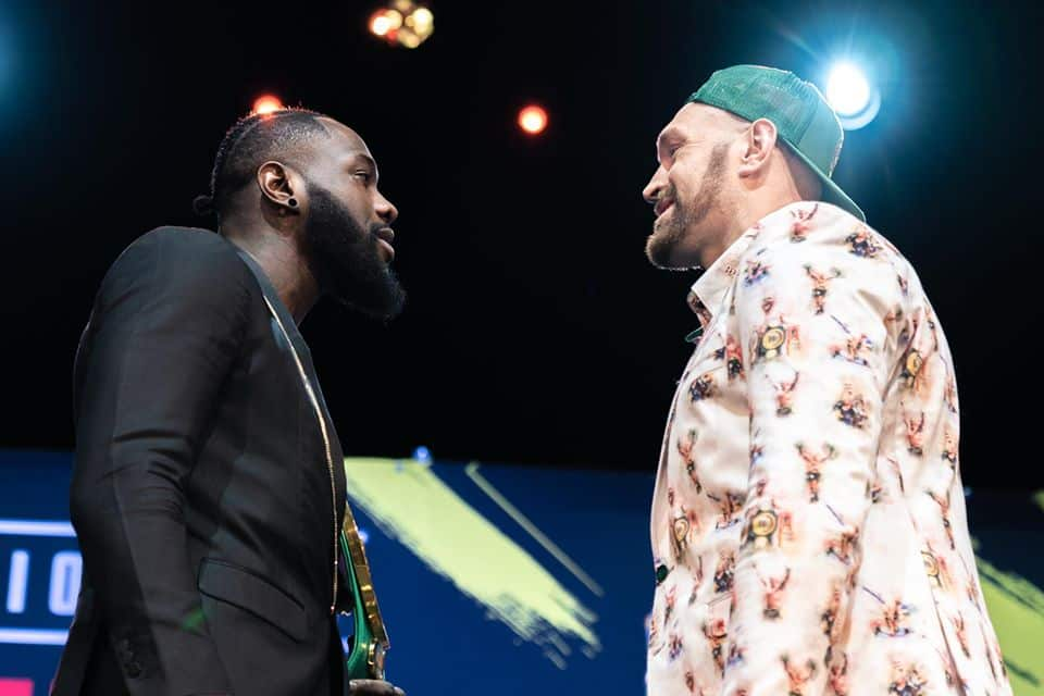 Not even God can save you on February 22 - Wilder tells Fury ahead of rematch