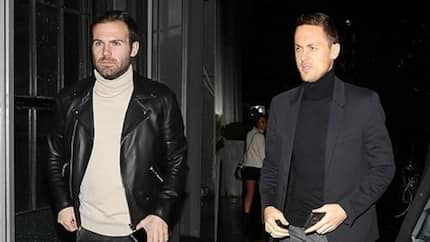 United players dazzle as squad members step out for Christmas dinner at city centre