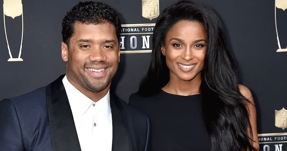 Ciara and Russell Wilson have been married for five years. Photo: Getty Images.