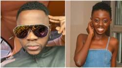Kenyan socialite Akothee's daughter spotted grinding against singer Kizz Daniel during concert (video)