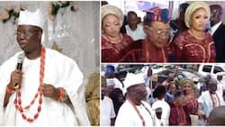 Aare Ona Kakanfo at 51: Alaafin of Oyo and his pretty wives, other dignitaries storm birthday party