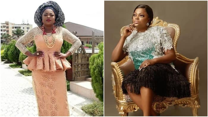 After welcoming twin boys, Funke Akindele steps out in style (photo)