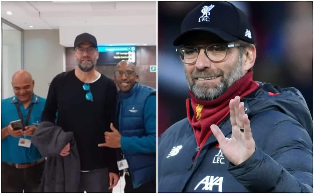 Liverpool boss Klopp jets out to South Africa to celebrate victory over Man City