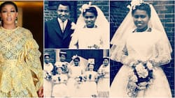 Rita Dominic shares beautiful throwback wedding photos of late mum as she remembers her after 20 years