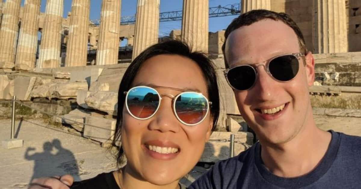 Image result for images of Mark Zuckerberg celebrates 7th wedding anniversary with wife