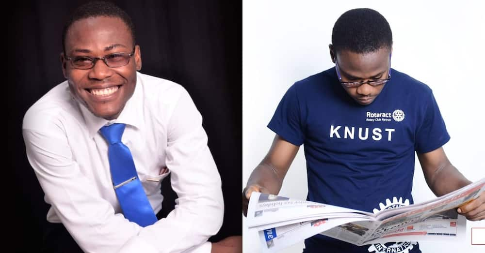 Prosper Setsoafia: Meet the fresh KNUST graduate contesting as MP