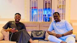 Super Eagles captain Musa spotted with popular Nollywood star doing something great