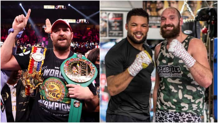 WBC champion Tyson Fury names next best boxer after victory over bitter rival Wilder