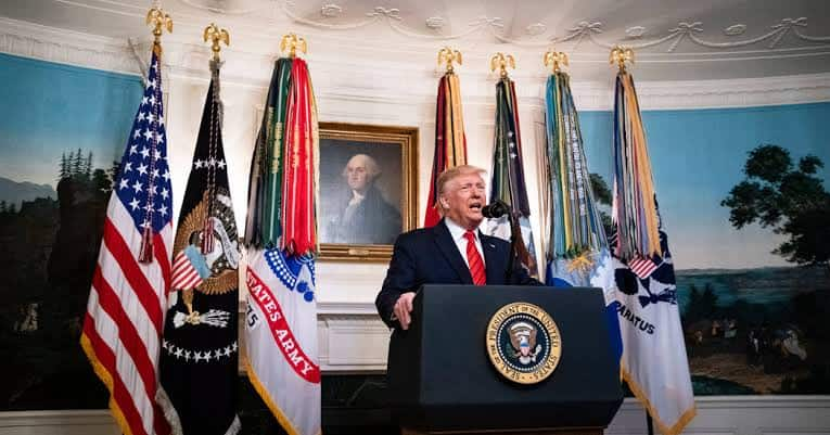 Baghdadi: Trump says he did not inform Democrats about raid that killed terrorist