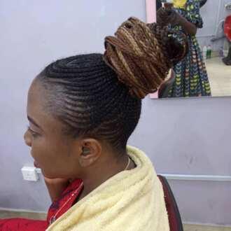 Ghana weaving hairstyles