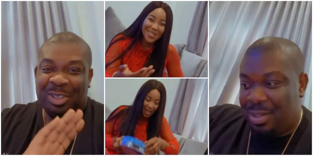 BBNaija's Erica gifts Don Jazzy hamper for Christmas, he thanks her in funny video