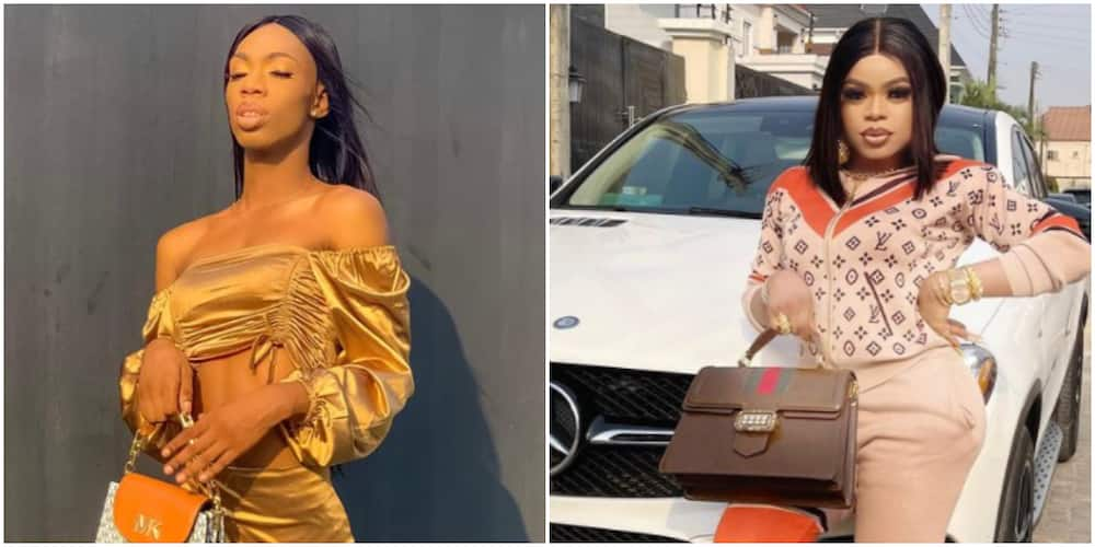 If You are Pained, Make a Video without your 'Bleaching' Filter, James Brown Replies Bobrisky's Threat