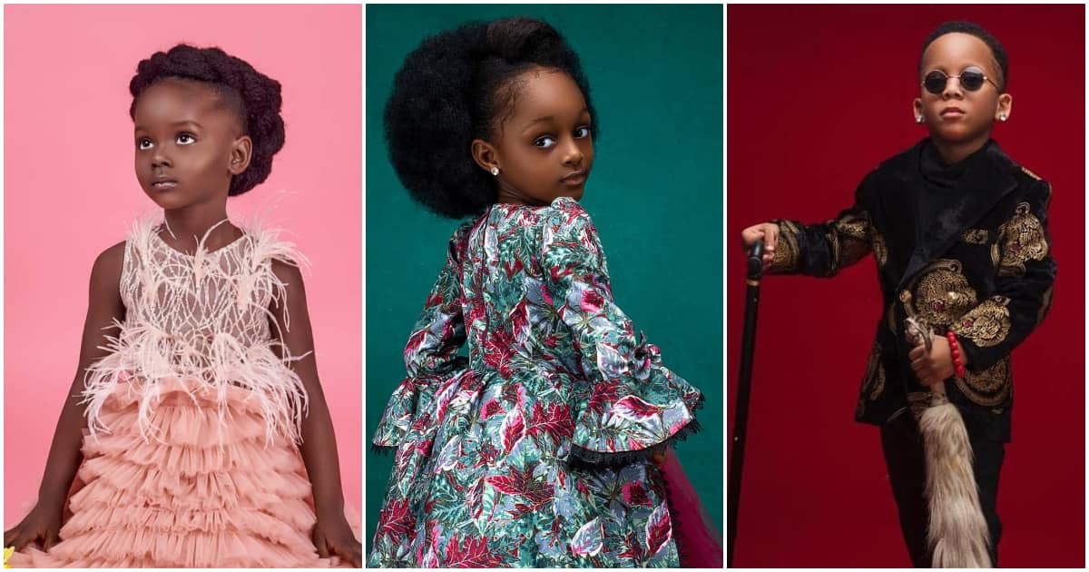 5 charming Nigerian child models we could gaze at for eternity