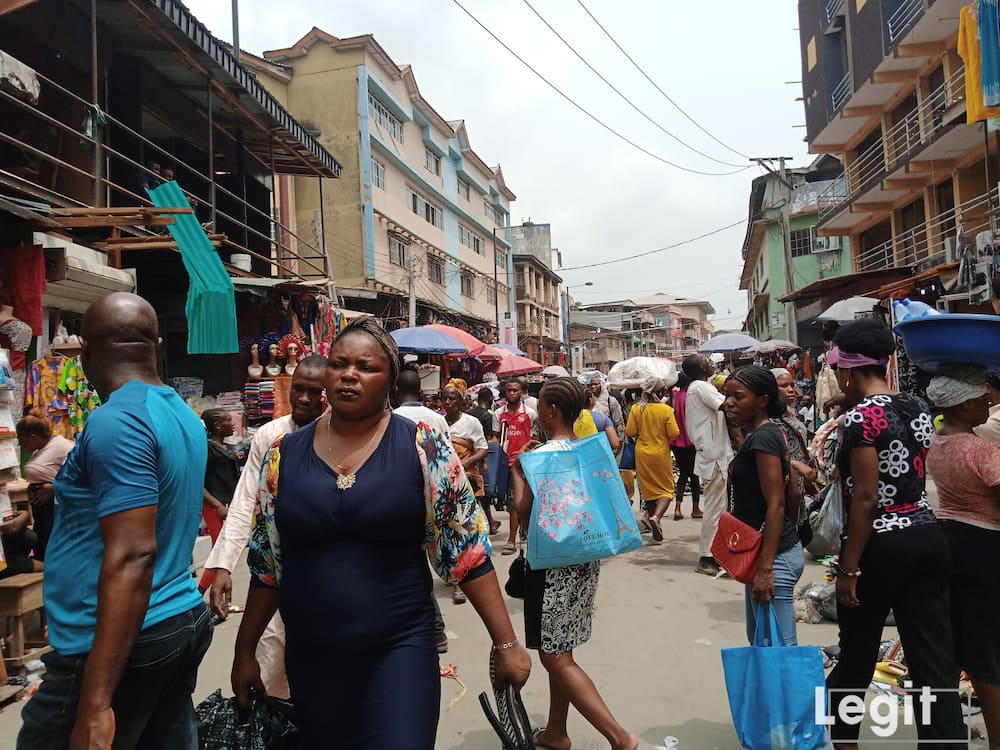 The affordability in the cost price of goods at Balogun market, makes it one of the best and most popular market in Lagos state. Photo credit: Esther Odili