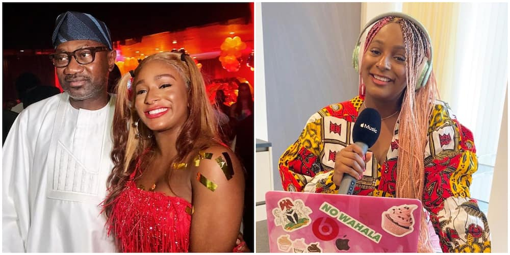 You can't take money along when you die, DJ Cuppy shares what dad always tells her