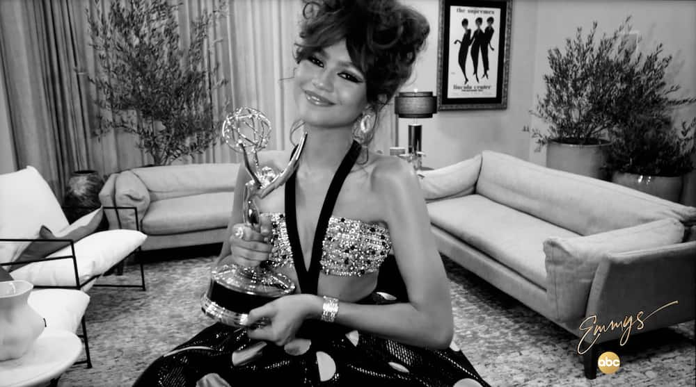 Zendaya becomes youngest Emmy winner for Lead Actress in drama