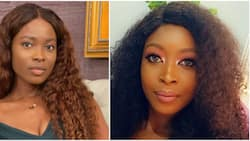 You just finished me: Jemima Osunde reacts as lady begs actress not to collect her man