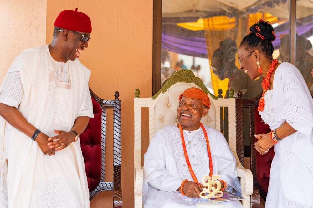 Okowa and Asaba Monarch