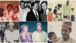 7 throwback photos of President Muhammadu Buhari as young man who loved his family and job
