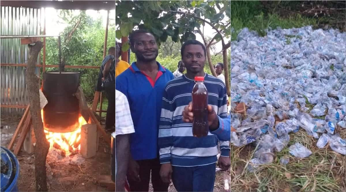 Meet talented individuals who convert plastic waste to fuel for cars